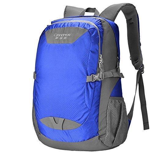 Bergsteigen Tasche/Schultertaschen/Sporttasche-Armee-Grün 40L blau