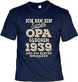 zum 79.Geburtstag 1939 T-Shirt super Opa geboren 1939 und EIN echter Hingucker Geschenk 79 Geburtstag 79 Jahre Geburtstagsgeschenk 79-jähriger