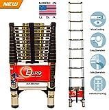 Euro Telescopic Aluminium ladder 3.2mtr(...