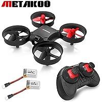 Mini Drone Metakoo M1 RC Quadcopter RTF, Pocket Helicoptère UFO, Nano Drone Telecommande 2.4G 4 Canaux 6 Axes Gyro, 3D Flips, Anti-Crush, Génial Cadeaux Jouets Pour Débutants et Enfants