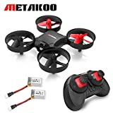 Metakoo M1 Mini Drohne mit Höhenstabilisator, Mini Drone Quadcopter , Nano RC Quadrocopter 2.4G 4CH 6 Axis Headless Modus, Kinder Drone mit Fernbedienung, Mini UFO drohne RC Spielzeug für Anfänger