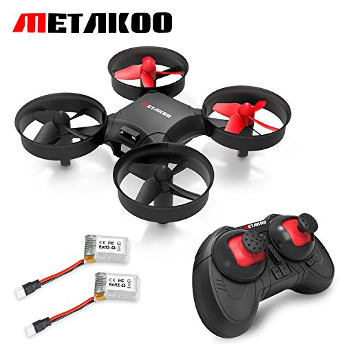 Metakoo M1 Mini Drohne mit Höhenstabilisator, Mini Drone Quadcopter , Nano RC Quadrocopter 2.4G 4CH 6 Axis Headless Modus, Kinder Drone mit Fernbedienung, Mini UFO drohne RC Spielzeug für Anfänger (Rc Quadcopter Drohnen)