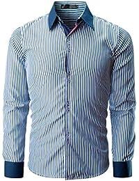 righe it Amazon Uomo camicia Abbigliamento RO8Aax