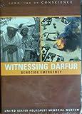 Witnessing Darfur Genocide Emergency Dvd!