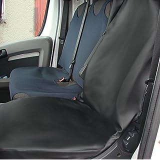 POK-TER Werkstattschonbezug in Kunstleder Nicht Nur für die Werkstatt!!! Pflegeleicht, widerstands fähig, Superqualität. Passend für Citroen C8 Fahrersitz Oder Beifahrersitz.