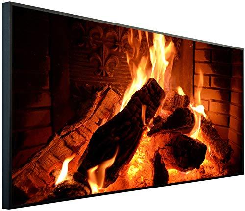 InfrarotPro Calefacción por Infrarrojos, 750 W, calefacción con Imagen Fabricada en Alemania,...