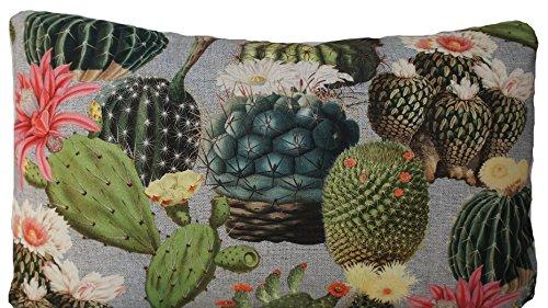 Cactus Imprimé Housse de coussin Vert Couvre-lit décoratif Taie d'oreiller rectangle