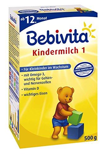 Bebivita Kindermilch 1, 4er Pack (4 x 500 g Packung)