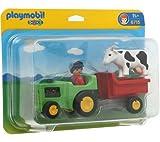 PLAYMOBIL 6715Bauer und seine Traktor 123