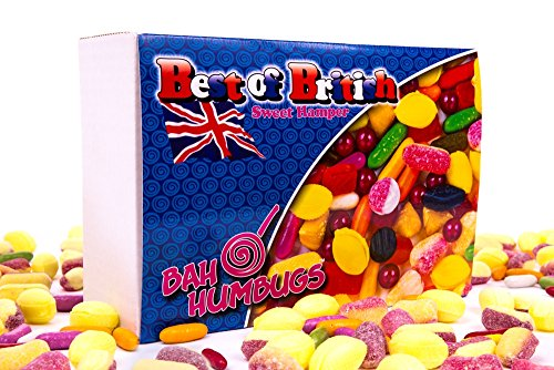 Best of British Sweets Hamper including aniseed balls