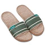 Pantoffeln, Hausschuhe Indoor Startseite Slipper, Hausschuhe Winterschuhe Warme Herbst Winter Flip Flops Slipper (37-38, Grün A)