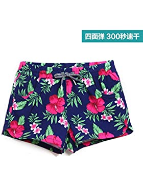 HAIYOUVK Couple Honeymoon Vacation Beach Pants Men And Women Quick-Drying Large Size Loose Shorts Beach Female...