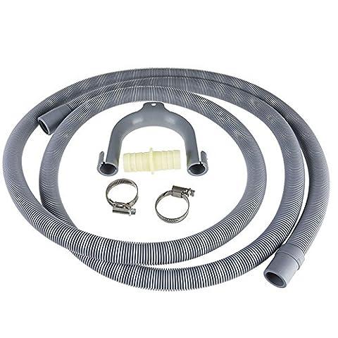 Lave Vaisselle Hoover - Qualtex Rallonge de tuyau d'évacuation pour lave-linge