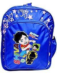 AAON 4L Printed School Backpack For Kids (Dark Blue)