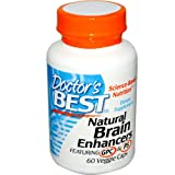 Doctors Best Natural Brain Enhancers, 60 Vegetarian Capsules