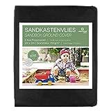 Prolifiqs Sandkastenvlies I Sandkasten Vlies & Unkrautvlies für den Kinder Sandkasten I Atmungsaktiv & Reißfestes Gartenvlies I Für Sand + Rindenmulch + Kies + Pflastersteine (2 x 2 m)