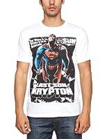 Loud Distribution Superman - Comic Poster Men's T-Shirt