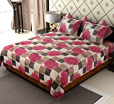 Amethyst Floral Polycotton Double Bedshe...
