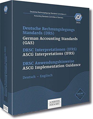 Deutsche Rechnungslegungsstandards DRS: Deutsch-Englisch