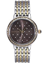 Giordano Analog Grey Dial Women's Watch - F0001-08