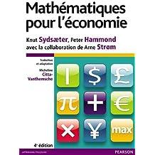 Mathématiques pour l'économie 4e édition
