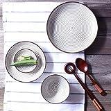 ChenDz Western-Style einfache keramikplatte Flache Platte salatteller disc Steak Platte