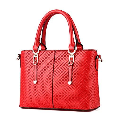 Koson-Man-Borsa Vintage da donna, borsetta per impugnatura, rosso (Rosso) - KMUKHB288