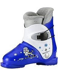 Tecno Pro Ski-botas de esquiar infantiles Jr. azul, blanco Talla:16.5