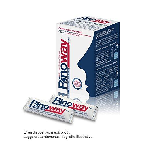 Rinoway® Sali Isotonici per Irrigazione Nasale 60 Bustine 2,25gr Envicon® Medical
