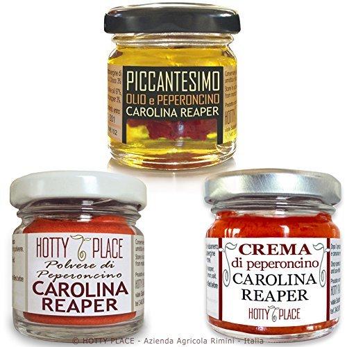 tris-di-reaper-1-polvere-1-olio-1-crema-peperoncino-piu-piccante-al-mondo-carolina-guinness-world-re