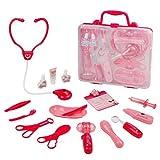 Maletin Medico Kit, Juguete de Doctora, Juegos de Médicos Enfermera para Niños Juego de rol Cuadro Médic Maletín de médico Niños Edad 3 4 5 6 (2 Tipo de Entrega Aleatoria)