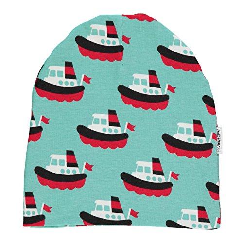 Kinder-mode Booten (Maxomorra Baby Jungen Beanie mit Booten Boat (40/42))