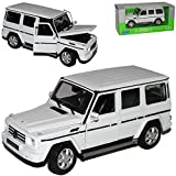Mercedes-Benz G-klasse Weiss W460 Ab 1979 1/24 Welly Modell Auto