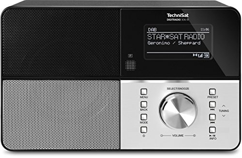 TechniSat Digitradio 306 IR Internetradio (Spotify, WLAN, LAN, DAB+, DAB, UKW, Radiowecker, Wifi...