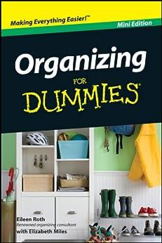 Organizing For Dummies, Mini Edition par [Roth, Eileen]