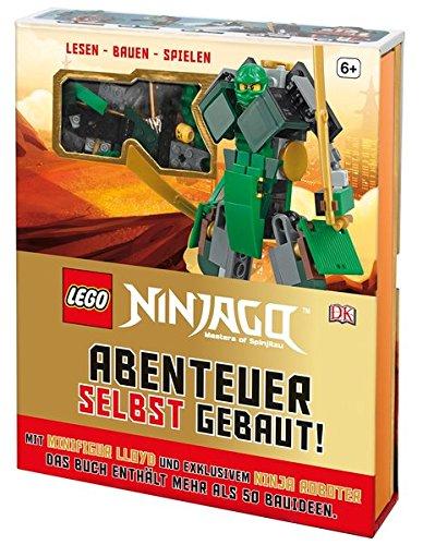 Preisvergleich Produktbild LEGO® NINJAGO® Abenteuer selbst gebaut!: Lesen - Bauen - Spielen