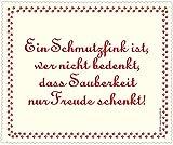 Inkognito gamuza limpiadora para lentes 'una camada Bug es alguien que ha olvidado la limpieza te hace feliz' [en alemán]