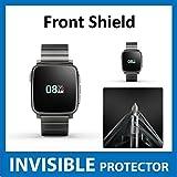 Pebble Zeit Stahl Smart Watch Bildschirmschutzfolie Vorderseite unsichtbar Folie (vor Shield) Military Grade Schutz Exklusive zu Ace Fall