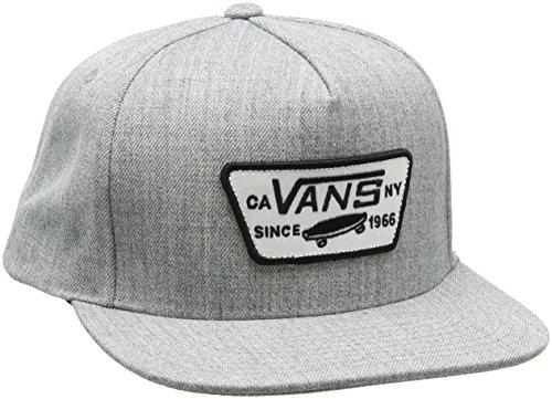 Imagen de vans full patch snapback  de béisbol, gris heather grey htg , única talla del fabricante os para hombre
