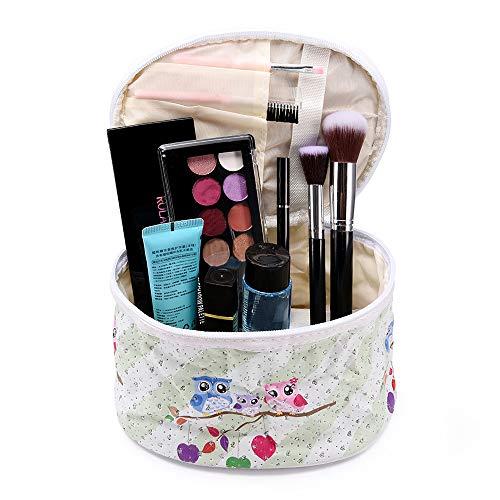 Trousses à maquillage Femme homme,ITISME Maquillage Sacs Idée CosméTique 3D Imprimé Voyage Filles Mesdames Cadeau Maquillage