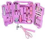 96 Teilig Werkzeugset Pink Lady Werkzeugkasten Werkzeugkoffer Werkzeugkiste