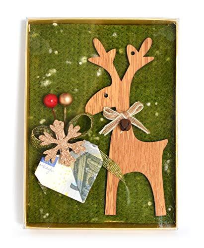Geldgeschenk handgefertigt & Edel Weihnachten männer Box Schachtel Gutscheinkarte Weihnachten Geschenkideen Weihnachts-Geld-Geschenke geschenkbox