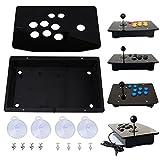 Schwarzes Acryl Panel und Case DIY Set Kits Ersatz für Arcade-Spiel