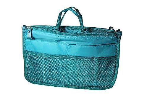 NOV@GO® (version premium) Organiseur/Pochette/sac de rangement intérieur pour grand sac à main ou sac de voyage