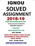 M.COM MCO-1,3,4,5,6,7 (ENGLISH MEDIUM) IGNOU SOLVED ASSIGNMENTS 2018-19 M.COM 2ND YEAR ENGLIS BUY ONLINE WWW.DELHIHOMESHOP.COM CALL-07838112675
