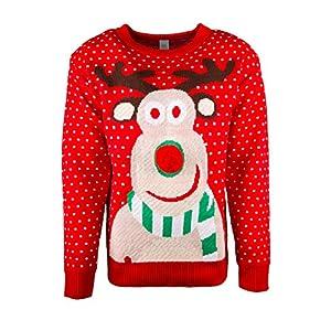 JAP Weihnachtspullover - Weihnachtspulli - Perfekte Passform ohne Jucken - Unisex - Damen und Herren
