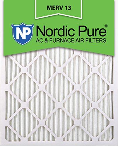 14x24x2 Ofen-filter (Nordic Pure Merv 13Bundfaltenhose AC Ofen Air Filter, Box von 6 14x24x1M13-2)