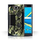 Stuff4 Hülle / Case für BlackBerry Priv / Grün Tarnung Muster / Playstation PS4 Kollektion