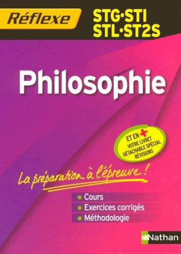 Philosophie STG-STI-STL-ST2S par Patrice Rosenberg, Jean-Paul Salle
