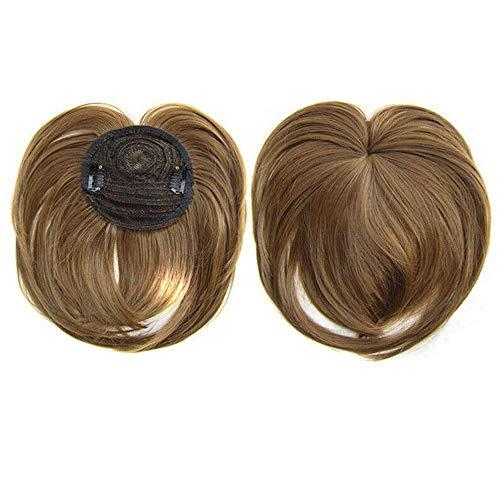 Hair Toppers per capelli diradati Donna, estensioni dei capelli umani clip in estensione dei capelli One Piece Base di seta naturale invisibile (18#)